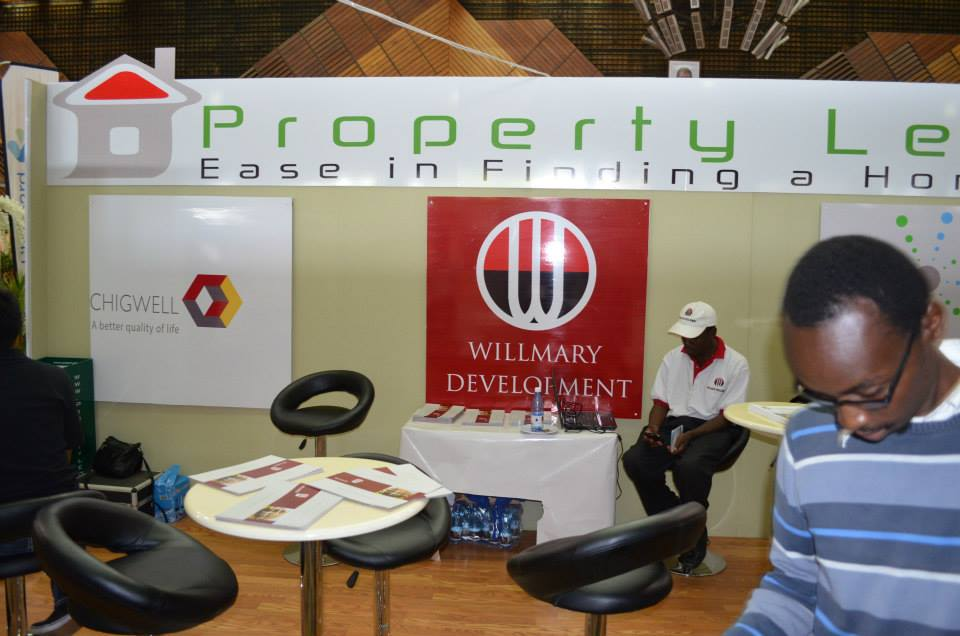 Property leo stand at the 18th Homes Expo