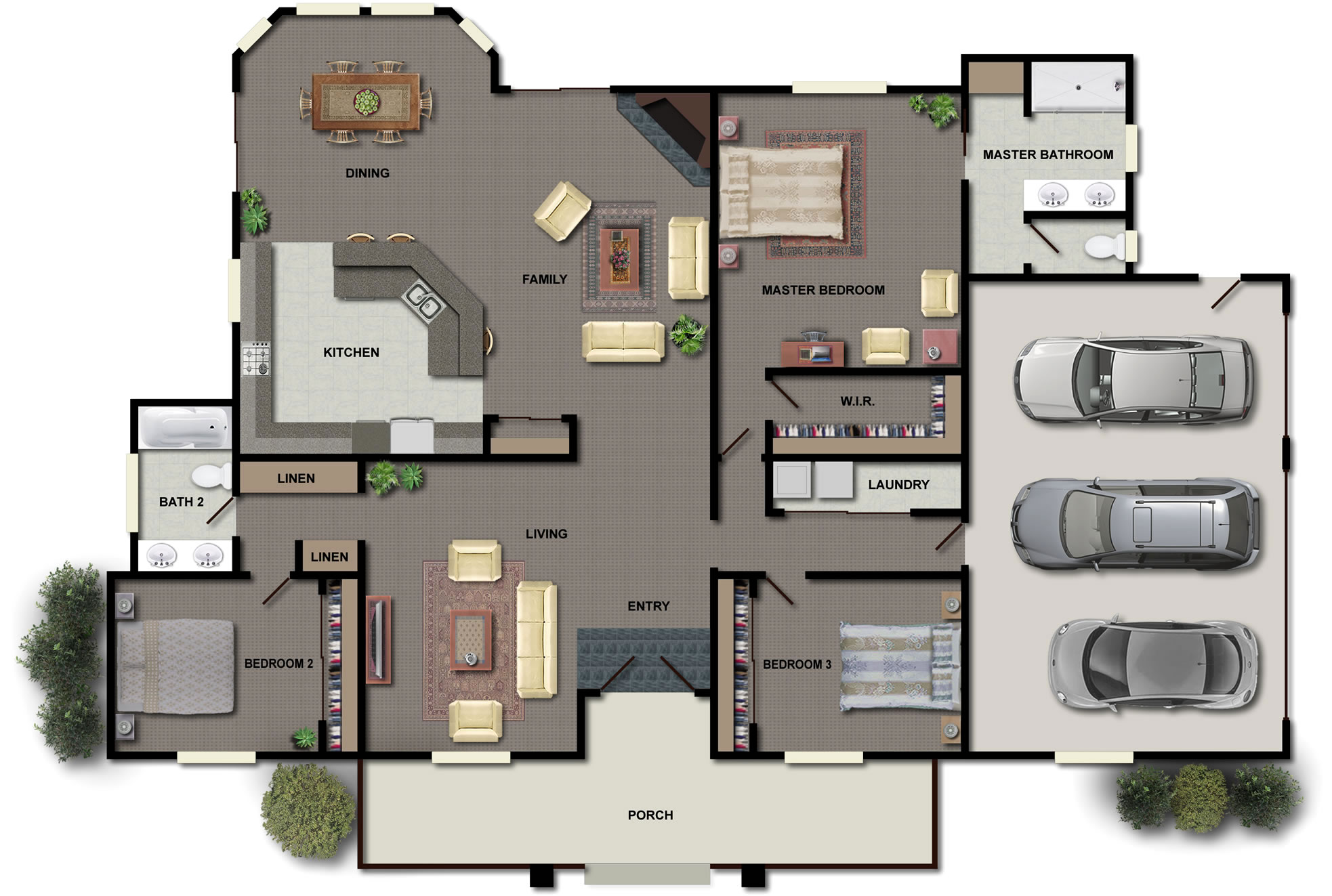 constructing your own home in kenya two bedroom home plans kenya thumb two bedroom house plans - Home Floor Plans